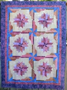 Bali Fruit Swirl Easy Quilt Pattern