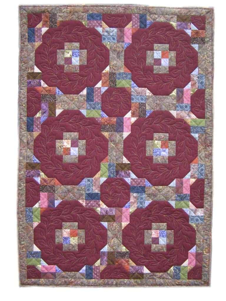 Hugs 'n Kisses Jelly Roll Quilt Pattern