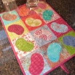 Simply Dry Dish Drying Mat Pattern