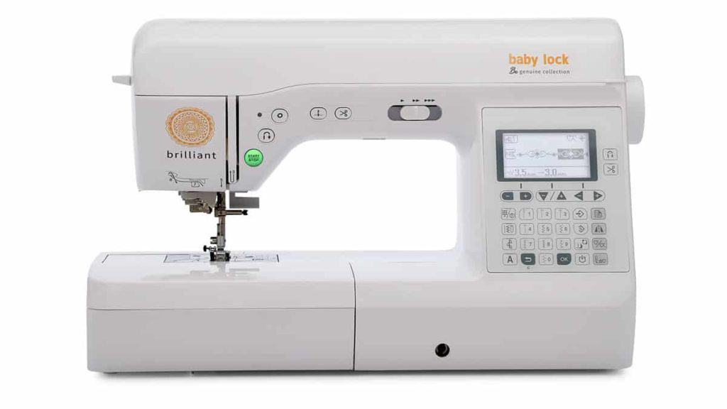 Baby Lock Brilliant sewing machine