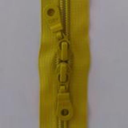 Zipper: Apple Green double pull