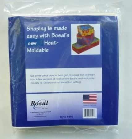 Bosal heat moldable