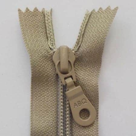 Simply Taupe zipper