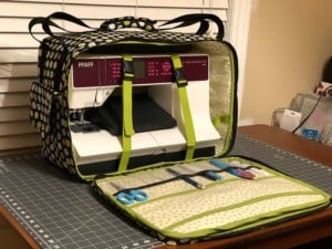 Elizabeth Lacey -Sewing Machine Tote - interior